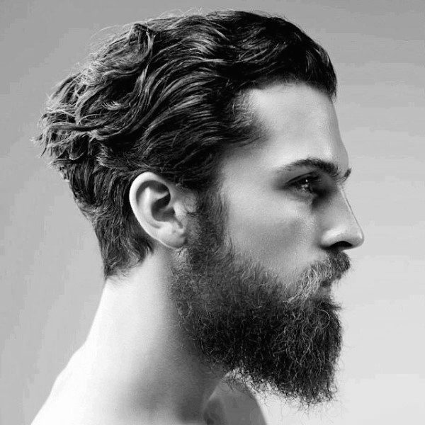Medium Hairstyles For Men With Thick Hair Wavy