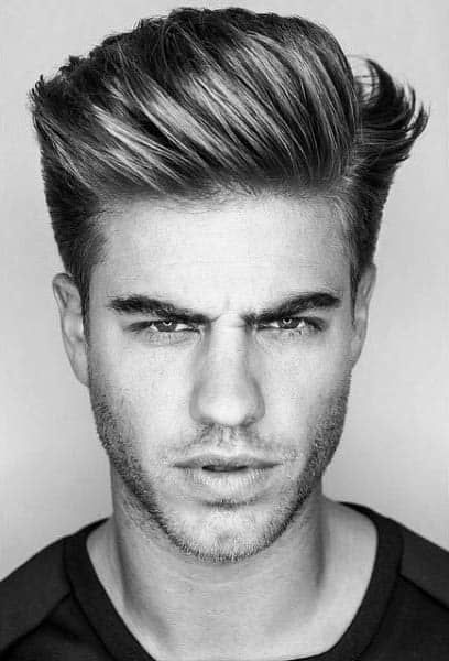 Medium Length Guys Hair Styles For Thick Hair