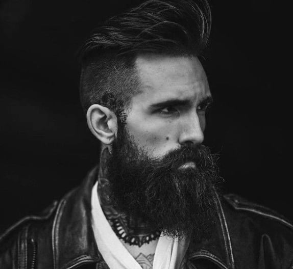 Medium Length Haircuts For Men With Beards