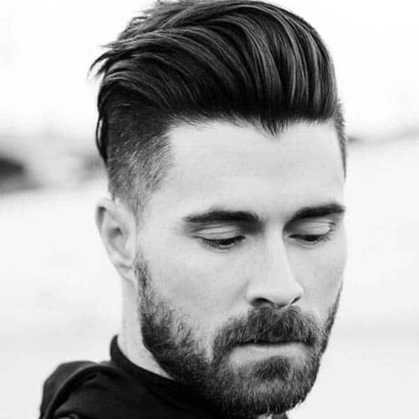 Medium Length Hairstyles Thick Hair For Gentlemen