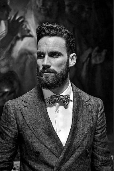 Medium Length Mens Classic Hairstyles For Men With Thick Hair