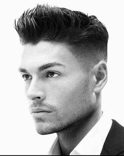 Medium Length Mens Modern Hair