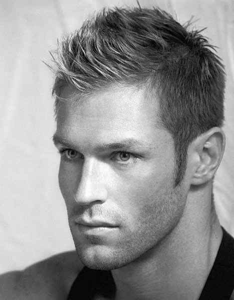Medium Length Mohawk Hairstyle For Men