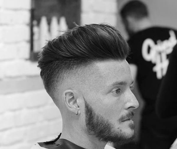 Medium Length Pompadour Hair For Males