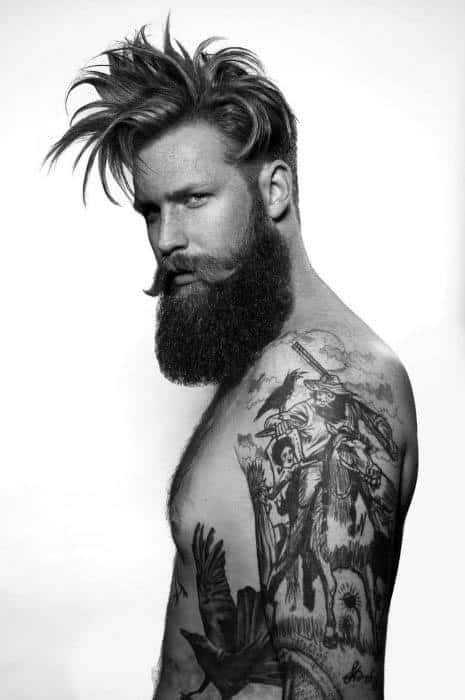 Medium Long Guy Hairstyles