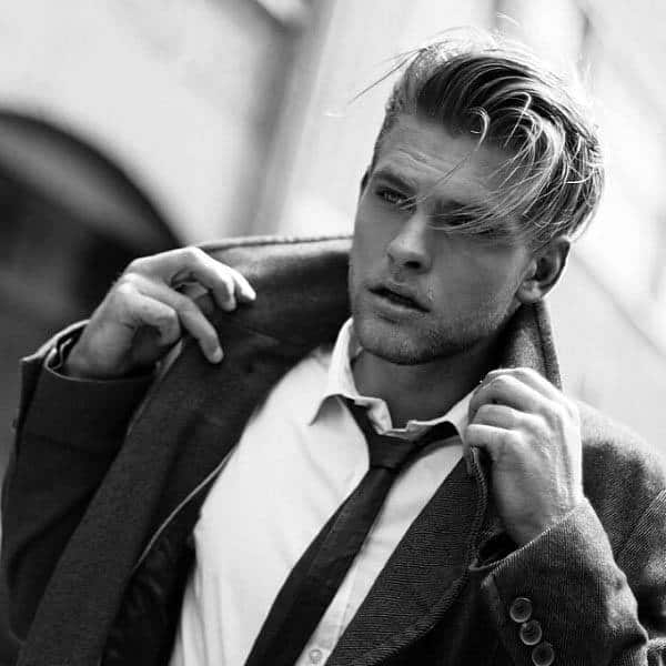 Great Medium Long Hairstyles Men