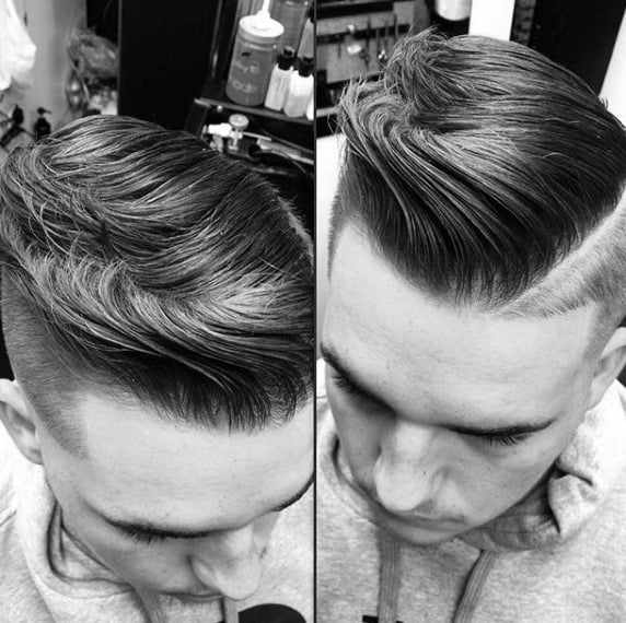 Medium To Long Cool Comb Over Hairstyles For Guys