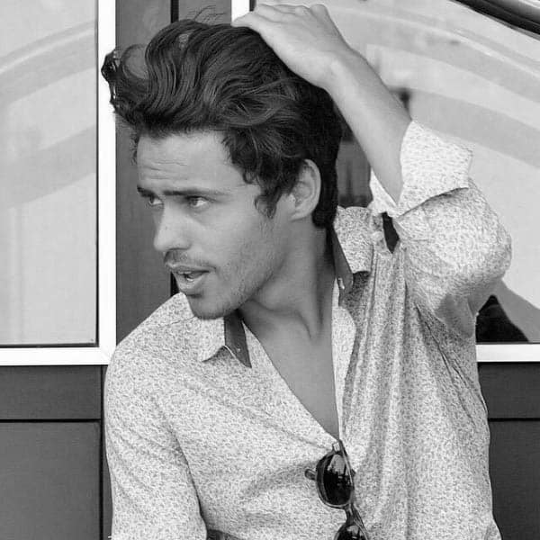 Medium To Long Hairstyles For Men With Thick Hair