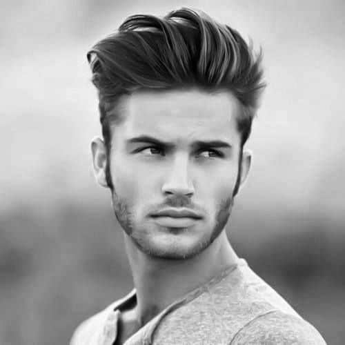 Medium To Long Quiff Haircut For Men