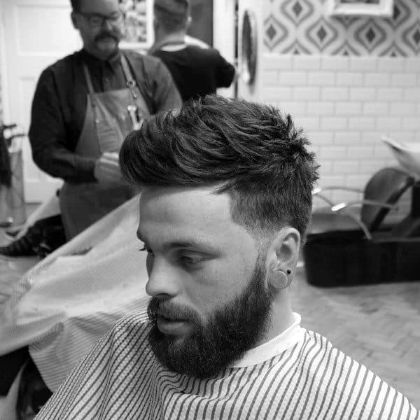 Medium To Short Male Haircuts For Wavy Hair