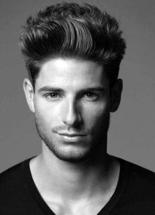 Medium To Short Male Hairstyles For Thick Hair