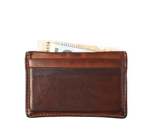 Meku Handmade Slim Leather Minimalist Wallet For Men