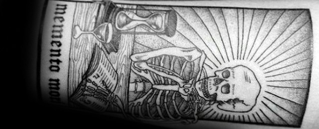 Memento Mori Tattoo Designs For Men
