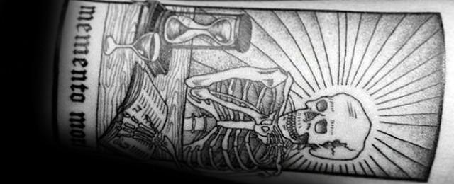 Top 61 Memento Mori Tattoo Ideas – [2020 Inspiration Guide]