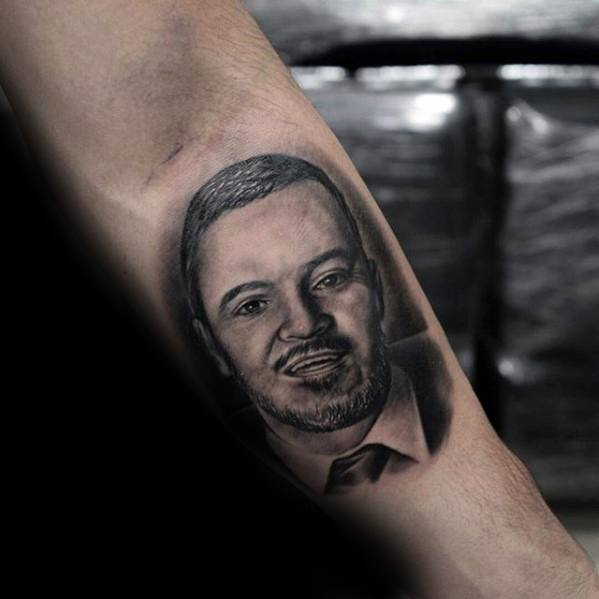 70 Portrait Tattoos For Men