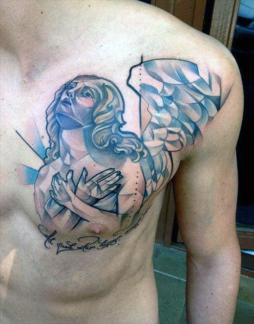 Men Chest Tattoo Designs