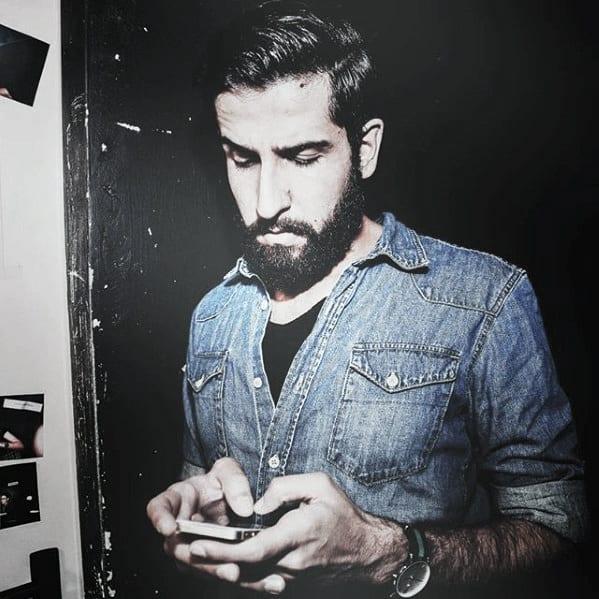 Men Medium Beard Style Ideas