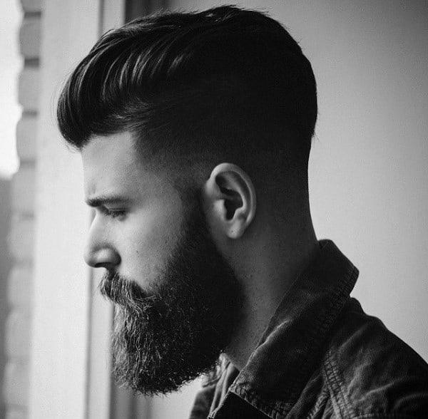 Men Pompadour Haircut