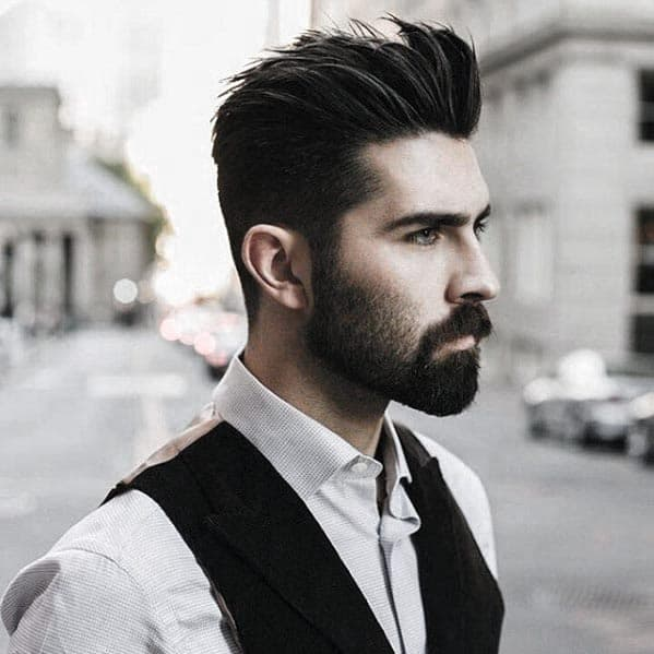 Men Short Beard Style Ideas