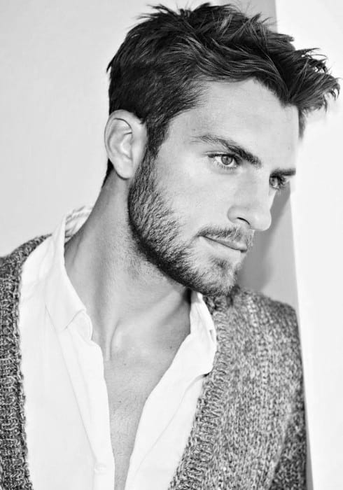 men s short haircuts for thick hair masculine hairstyles