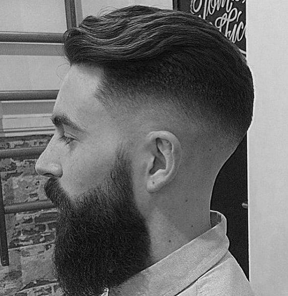 Men Short Wavy Hair