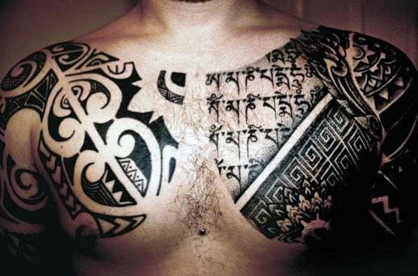 Men Tribal Tattoo
