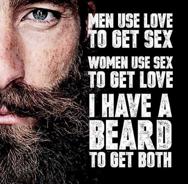 Men Use Love Funny Beard Memes