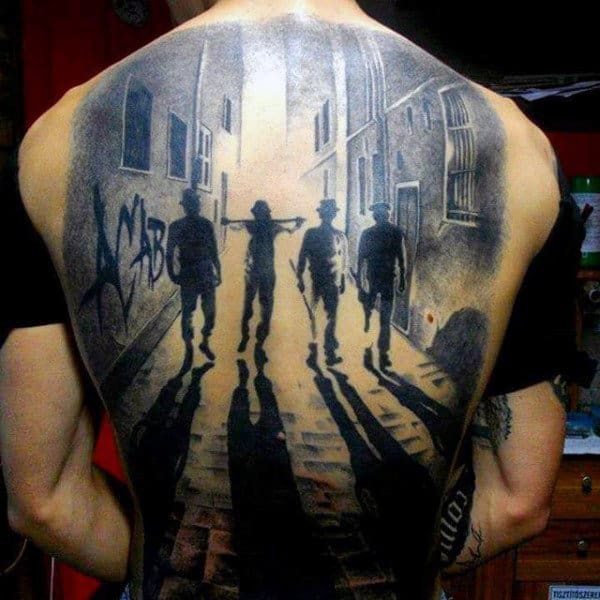 Men's 3D Tattoo Ideas