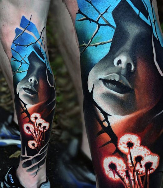 Small Art Tattoo Designs: Top 80 Best Abstract Tattoos For Men