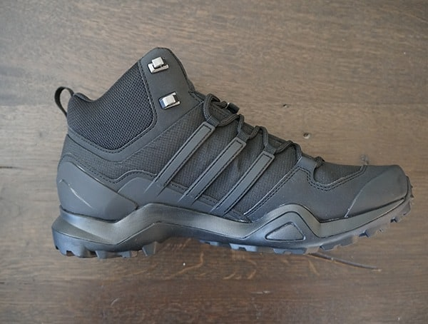 Mens Adidas Terrex Swift R2 Mid Gtx Shoes Side View