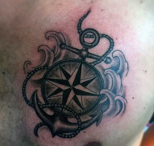 Men's Anchor Tattoos