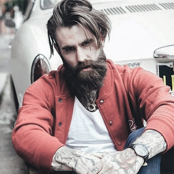 Mens Awesome Beard Dapper Style Ideas