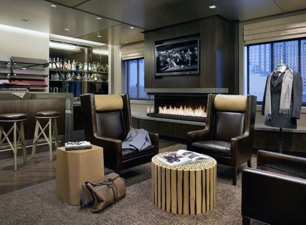 Mens Awesome Man Caves With Luxury Interior Design