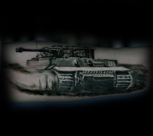 Mens Awesome Tank Tattoo Ideas