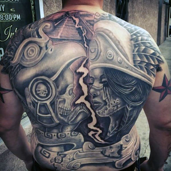 Aztec Tattoos Designs Ideas And Meaning: Ancient Tribal And Warrior Designs