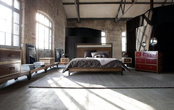 Men's Bachelor Pad Bedroom
