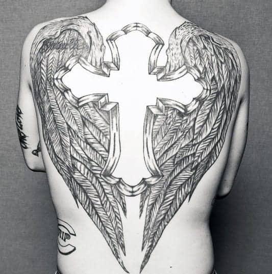 mens-back-cross-tattoo