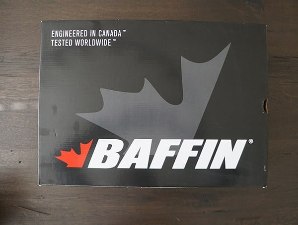 Mens Baffin Summit Boots Shoe Box