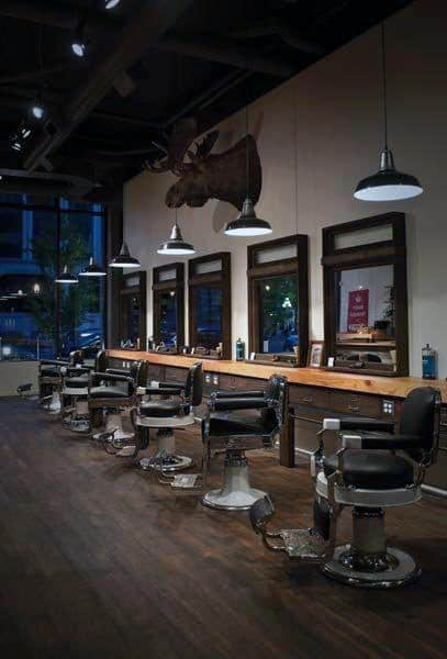 Mens Barber Shop Designs