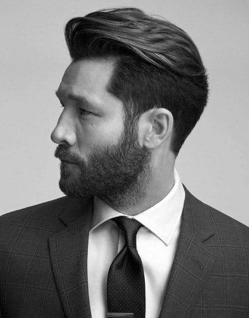 Fabulous 50 Hairstyles For Men With Beards Masculine Haircut Ideas Short Hairstyles Gunalazisus