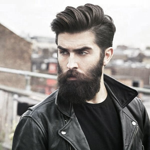 Mens Beard Awesome Style Idea Inspiration