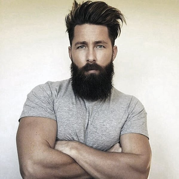 Mens Beard Big Style Idea Inspiration