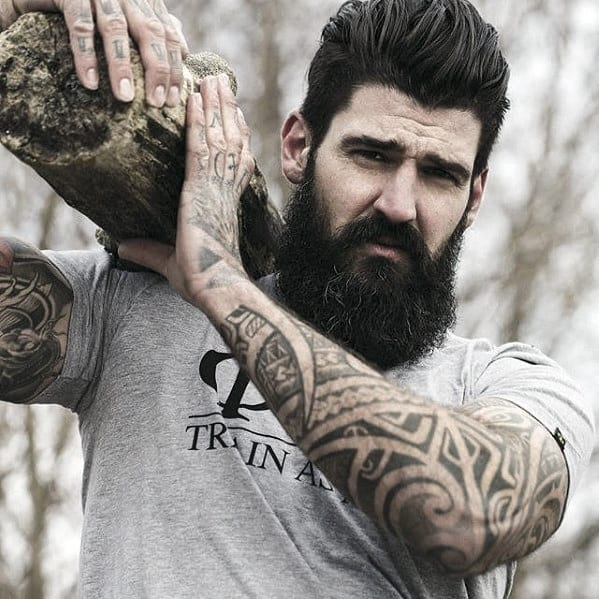 Mens Beard Big Style Ideas