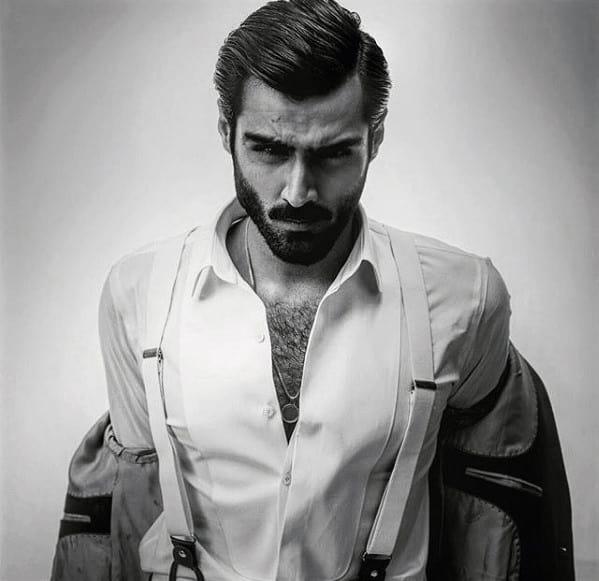 Mens Beard Classy Style Idea Inspiration