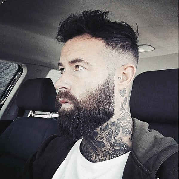 Mens Beard Cool Style Idea Inspiration