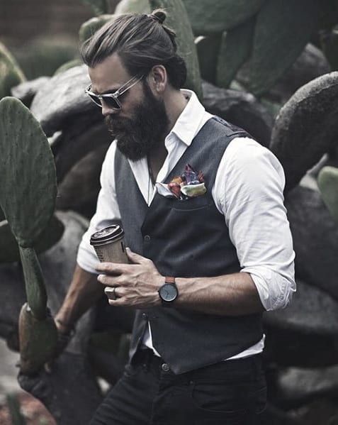 Mens Beard Great Style Idea Inspiration