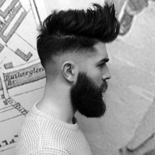 Men's Beard Haircut