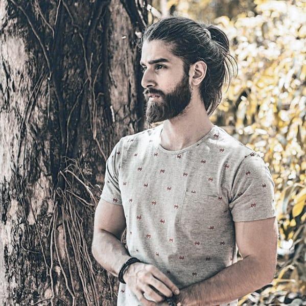Mens Beard Manly Style Idea Inspiration