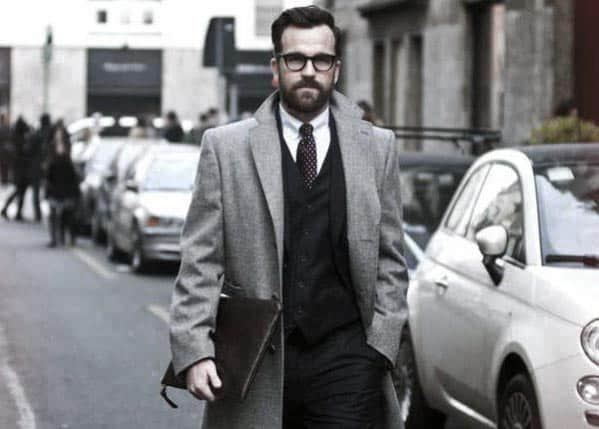 Mens Beard Professional Style Idea Inspiration