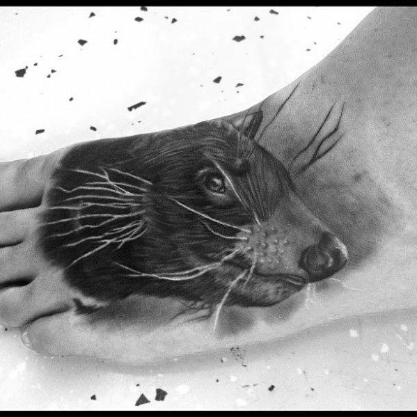 Mens Beaver Tattoo Design Ideas